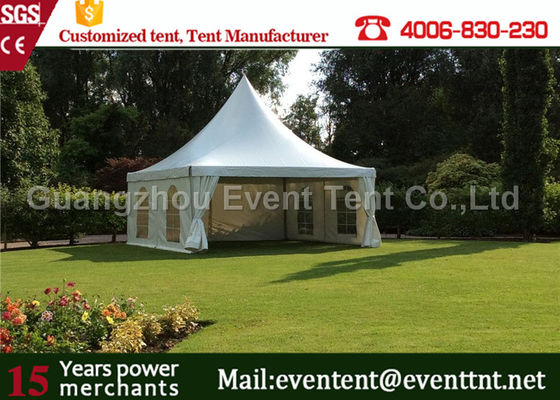 China Used Outdoor Tent With Aluminum Profile , Commercial Gazebo Heavy Duty White Square supplier
