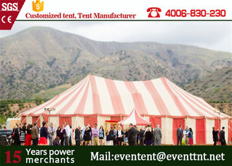 China Strong Heavy Duty Second Hand Tent , Color Optional Custom Printed Tent For Party supplier