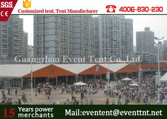China Custom 30 x 50 Frame Tent For Auto Show , Big Event Tent With ABS Hard Walls supplier
