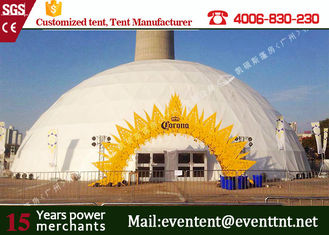 China Large Tents For Weddings Accessory Optional, Aluminum Frame Tent For Hotel Resort Center supplier