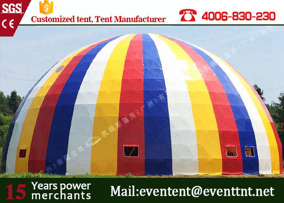 Large Factory Price Steel Frame Waterproof PVC Circus Dome Tent Camping Outdoor Tent
