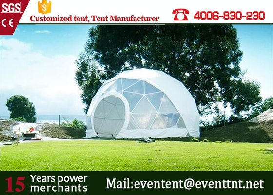 Guangzhou Customized Tent Manufacturer Geodesic Dome Tents dome house for Outdoor camping family event