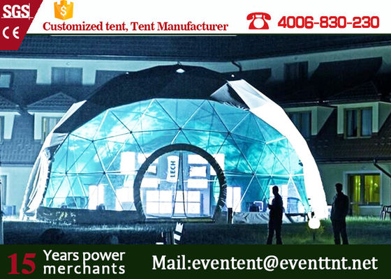 China Outdoor large Geodesic dome marquee circus tent event tent camping family tent for sale supplier