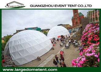 Luxury Decoration 82 Feet / 25 Meter Geodesic Dome Tent For Banquet Party
