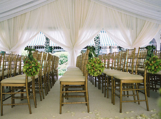 Waterproof  PVC Fabric Roof Wedding Party Tent / Garden Party Marquee