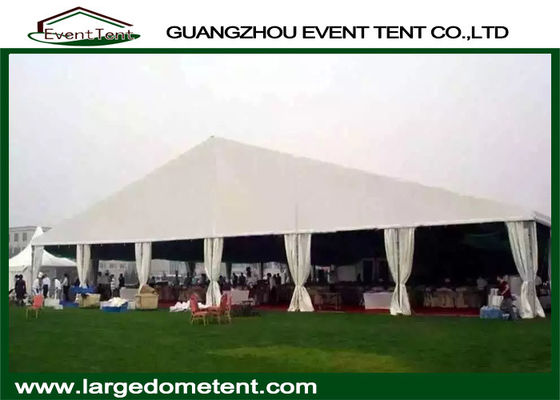 Luxury Decorated White Wedding Party Tent Hall For 100-2000 Peoples