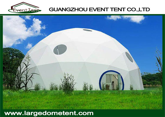 China Outdoor Geodesic Customized Large Dome Tent For Events / Exhibition supplier