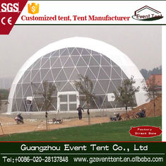 UV Resistant Outdoor Dome Tent Sun Shade Canopy With Sandwich Panel Wall