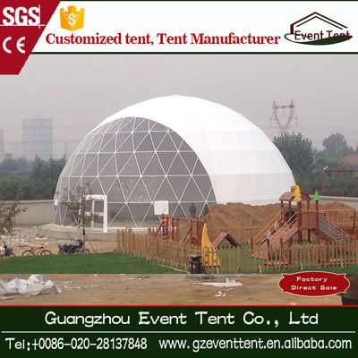 Ourdooor Clear Roof Geodesic Dome Tent , Fashion Wedding Party Tent