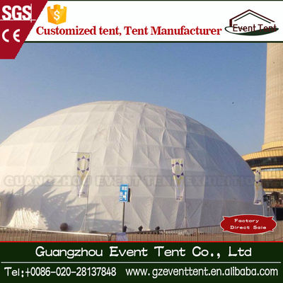 Dia 30m Outdoor Large Trade Show Canopy Tents Dome Tents , Steel Q235