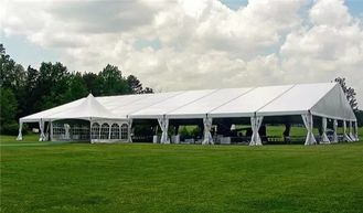 China Outdoor Luxury Mongolian Steel Frame PVC Pagoda Wedding Party Tent supplier