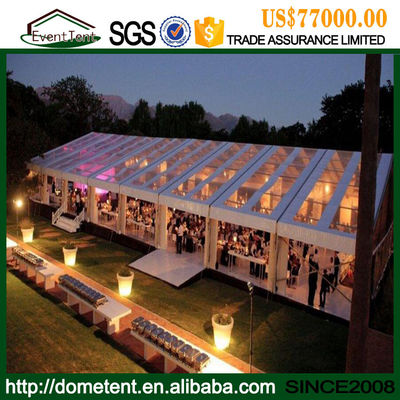40x50 Fire Retardant Large Outdoor Tent , Conference / Exhibition / Trade Show Tents