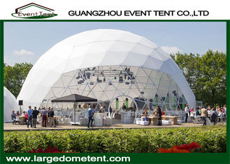 Geodesic Steel 30m Diameter Large Dome Tent For Outdoor Events