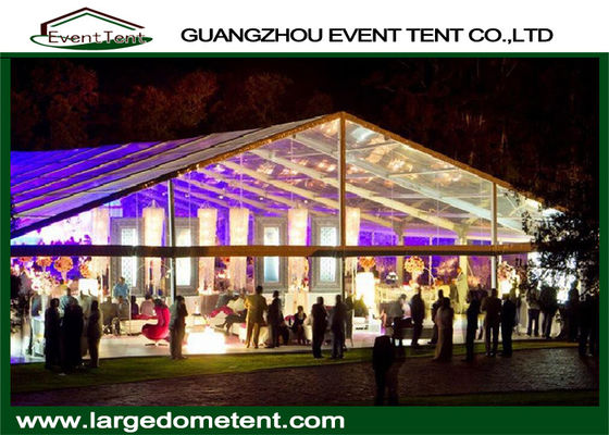 Aluminum Alloy 6061-T6 Frame Big Outdoor Trade Show Tents 30x60m For 1200 Peoples