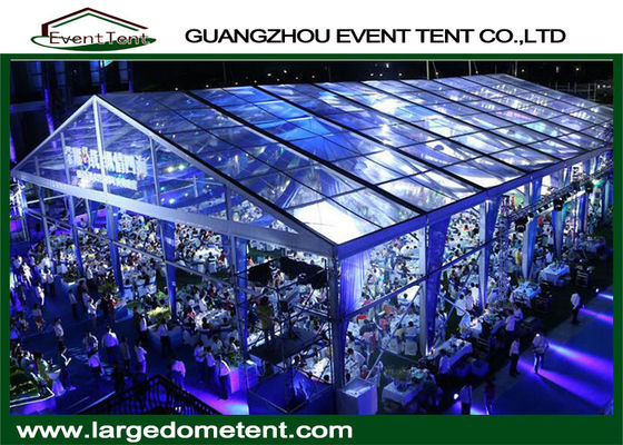 Outdoor 300 People Heavy Duty Wedding Tent With Dance Floor