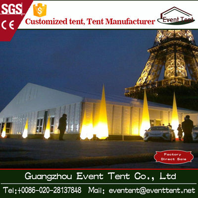 UV Resistance / Fire Retardant Large Outdoor Tent 16*45m Exhibition Tents