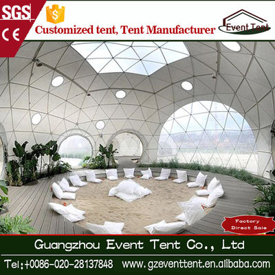 China Fashion Huge Geodesic Dome Tent , Outdoor Events Marquee Party Tent supplier