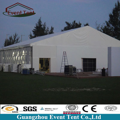 Anti Rust Modular Outdoor Warehouse Tent Building With PVC Covering