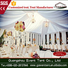 Luxury Romantic Garden White Catering Wedding Party Tent 500 Seat