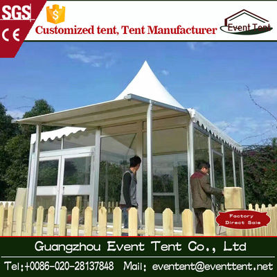 Outdoor Luxury Tent House Hotel Tent With Aluminium Profile Structure