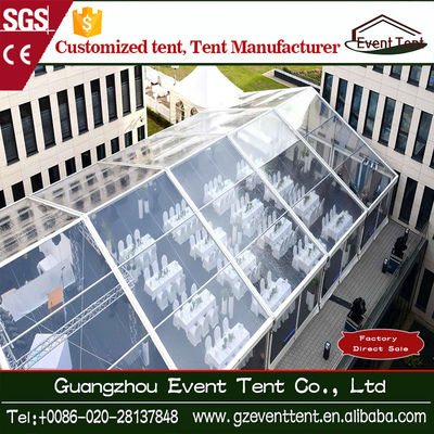 Romantic Aluminium Frame Transparent Wedding Party Tent 100km/H