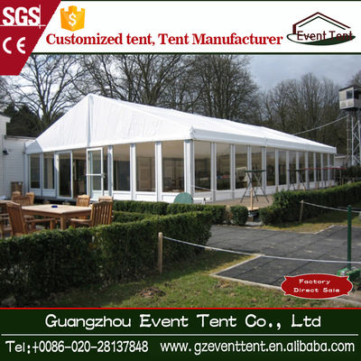 China Aluminum Farme Wedding Party Tent 6x12 , Outdoo Trade Show Canopy Tents supplier