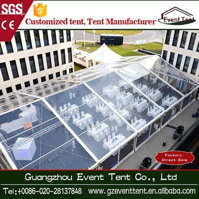 Rustless 20x30 Wedding Party Tent Outdoor Event Marquee With PVC Wall