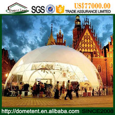Temporary Insulated Structure Large Dome Tent , Soundproof Dome Family Camping Tents