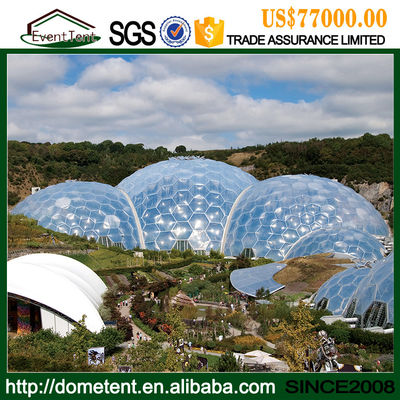 Large Tensile Membrane Structure Dome Tent For ETFE Greenhouse Film