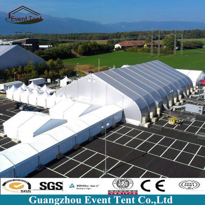 25*60m Aluminum TFS Curve Large Outdoor Tent , Wind Loading 100km/H