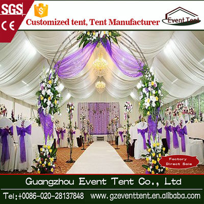 Durable Economic Aluminium White Wedding Party Tent With Sandwich Wall