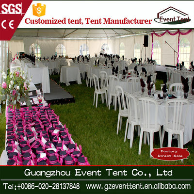 Durable Popular Aluminium Colorful Wedding Party Tent Nigeria Style