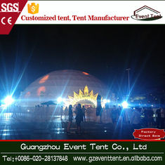 China Temporary Waterptoof Pvc Fabric Trade Show Canopy Tents With Glass Door supplier