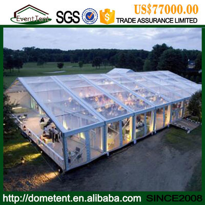 10x10m Fire Retardant Outdoor Tent , Conference / Exhibition / Trade Show Tents