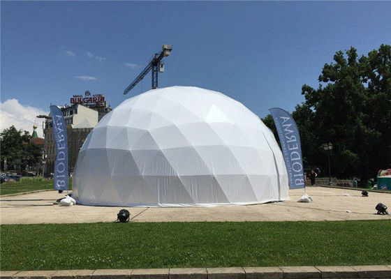 China Prefabricated Movable Wedding Party Tent Commercial Dome Tents supplier