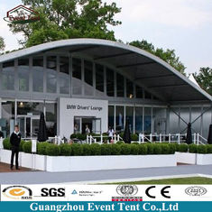 Commercial Party Tents , Wedding Ceremony Clearspan Marquee With ABS Solide