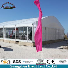 China Transparent Branded Classical Theatre Large Outdoor Tent Curved Arch Tent 10*30m supplier