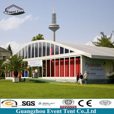 Customized 25x80m Arch Large Outdoor Tent , Event / Exhibition Tents