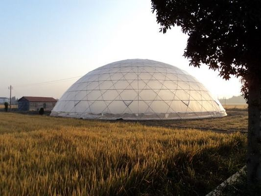 China Eco-Friendly Modern Inflatable Large Dome Tent Sturctural Wedding Party Tents supplier