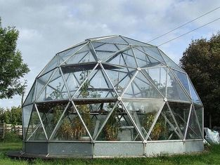 China Commercial Outdoor Glass Geodesic Large Dome Tent for greenhouse supplier