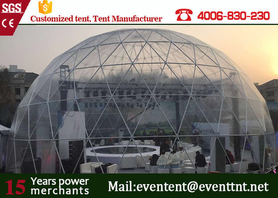 Standard Beautiful Large Dome Tent Marquee 30 Meters Diameter For Carnival