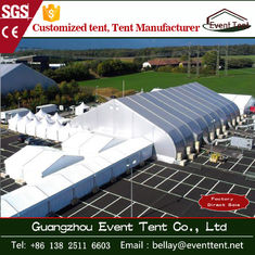 China Airplane aircraft hanger tent curved PVC cover roof tent supplier