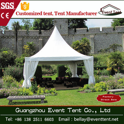 Cone Shaped High Peak Pagoda Marquee Tents , Outdoor Wedding Tent 5m * 5m