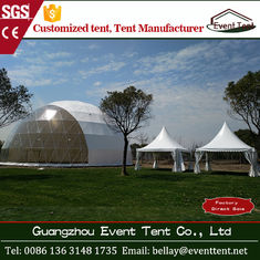 30m diameter white large wedding marquee tent with hot dip galvanize steel pipe
