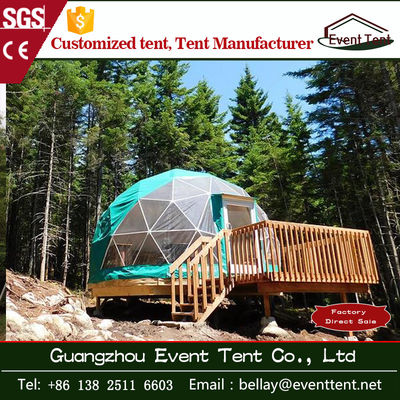 China Outside Beach Luxury Camping Tent with hot dip galvanize steel pipe supplier