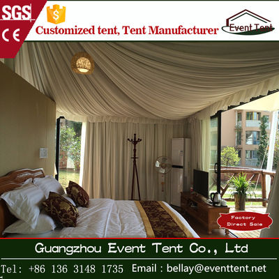 China UV resistant transparent Luxury Camping Tent For Two Person SGS supplier