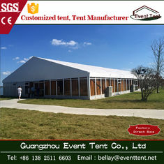 100% waterproof professional large marquee tent with glass wall 40x80m