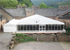 Fire Retardant Large Outdoor Tent With Instant Wedding Decorations Flowers