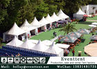 China Luxury Interior Design Heavy Duty Wedding Tent , Commercial Party Tent 2.5m Eave Height factory