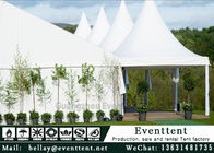 White Outdoor Party Tent For Advertising , Heavy Duty Waterproof Gazebo SGS